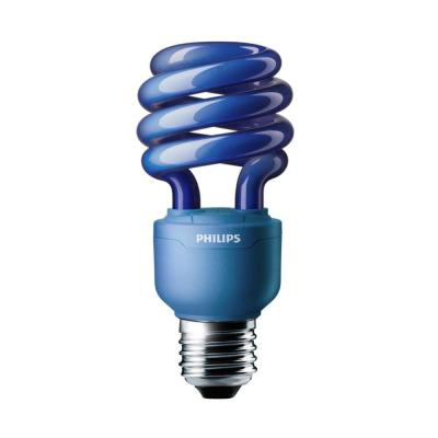 Philips Autism Speaks 60W Equivalent Spiral CFL Light Bulb - Blue