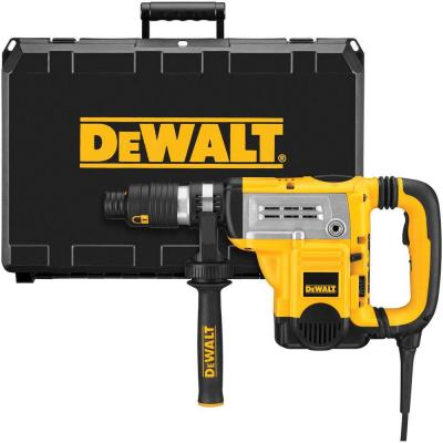 DEWALT 1-3/4 in. Spline Electronic Rotary Hammer Kit with Shocks and CTC