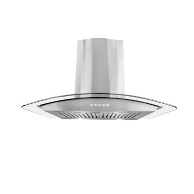 30 in. Convertible Wall Mounted Range Hood in Stainless Steel with
