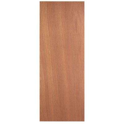 Masonite 28 in x 78 in smooth flush hardwood hollow core for 18 x 78 interior door