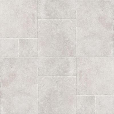 Villa Grigio Versailles Pattern Glazed Porcelain Floor and Wall Tile (9.36