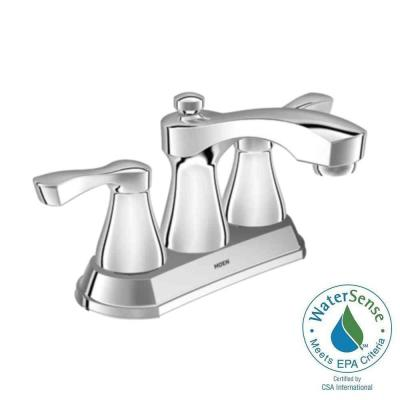 Belmont 4 in. Centerset 2-Handle Bathroom Faucet in Chrome Product Photo