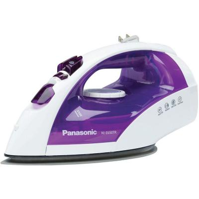 Panasonic 1200W Steam/Dry Iron with Curved, Non-Stick, Titanium Soleplate