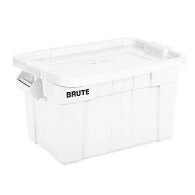 20-Gal. Brute Storage Tote in White