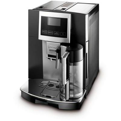 delonghi perfecta touchscreen super automatic espresso cappuccino latte macchiato and hot. Black Bedroom Furniture Sets. Home Design Ideas
