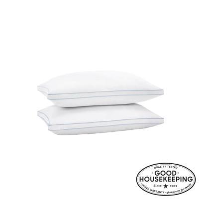 Medium/Firm Down Alternative Density Bed Pillow (Set of 2)