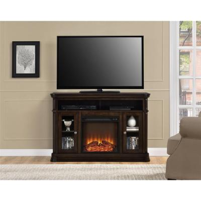 Altra Furniture Brooklyn Brown Entertainment Center