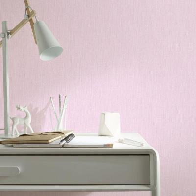 56 sq. ft. Pink Calico Wallpaper