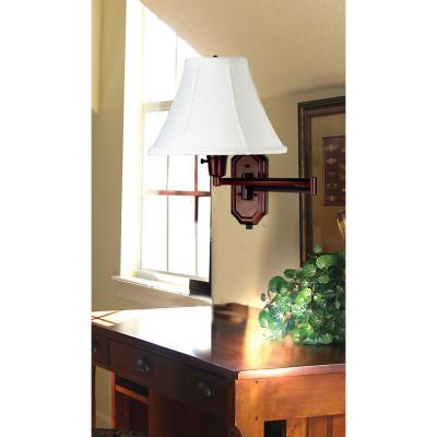 Kenroy Home Nathaniel 16 in. Bronze 1-Light Wall..