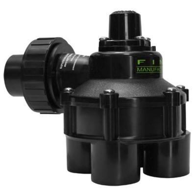 FIMCO 1 in. 10 psi 4 Outlet Indexing Valve with 2, 3 and 4 Zone Cams