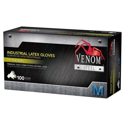 Heavy Duty Latex Beige Gloves (100 per Box)