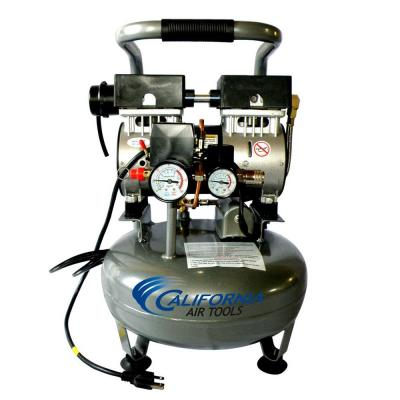 California Air Tools 3 Gal. 1 HP Ultra Quiet and Oil Free Air Compressor
