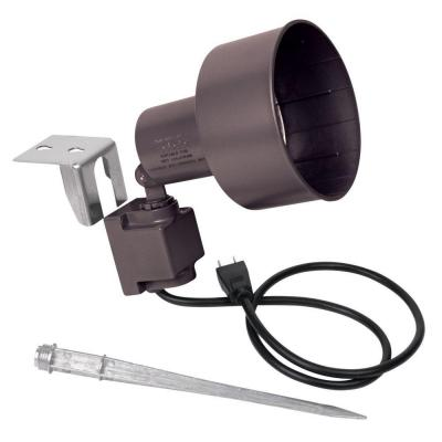 Red Dot Contemporary Portable Spotlight Kit Bronze