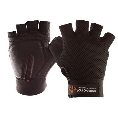 Half-Finger Leather Carpal Tunnel Glove