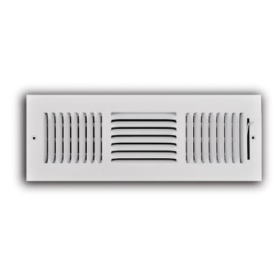 Wall Or Ceiling Register Controls Airflow Into A Room