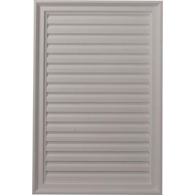 2 in. x 24 in. x 36 in. Decorative Vertical Gable Louver Vent Product Photo