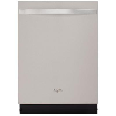 Whirlpool Gold Top Control Dishwasher in Monochromatic Stainless Steel with Stainless Steel Tub