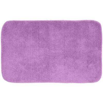 Garland rug glamor purple 24 in x 40 in washable for Rugs with purple accents