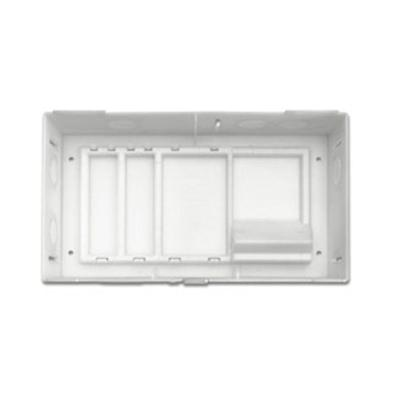 Leviton 14.4 in. Structured Media Compact Structured Media Enclosure and Cover 200-47605-MDU