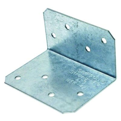 Simpson Strong-Tie ZMAX 18-Gauge Galvanized Steel Angle