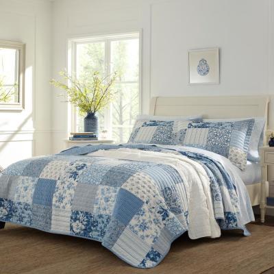 Paisley Patchwork Cotton Quilt Set