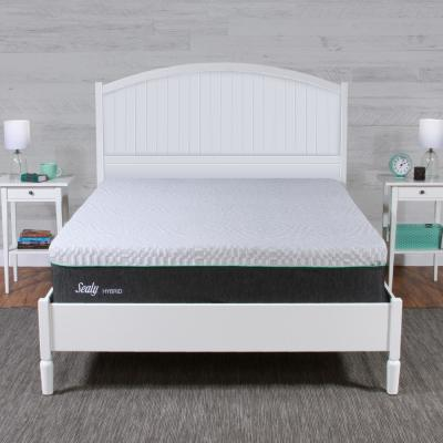 12 in. Spring & Memory Foam Hybrid Mattress - Medium Firm