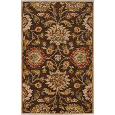 Artes Chocolate 6 ft. x 9 ft. Area Rug