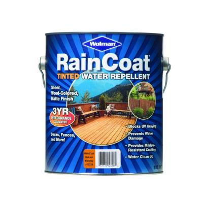 RainCoat Natural Hickory 1-gal. Water-Based with Modified Oils Water Repellent-DISCONTINUED