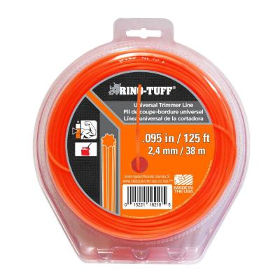 Rino-Tuff Universal 0.095 in. x 125 ft. Trimmer Line