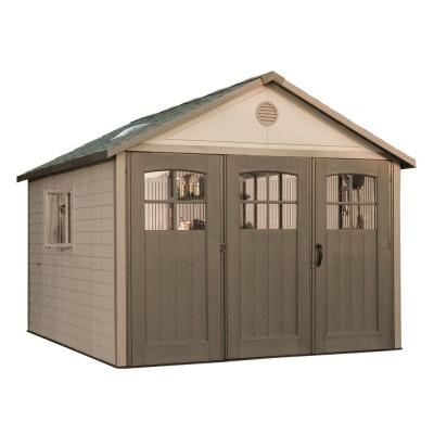 11 ft. x 11 ft. Storage Shed with 9 ft. Wide Carriage Door Product Photo