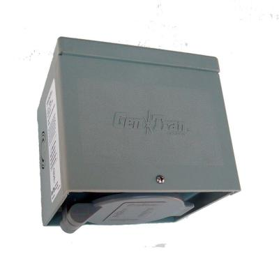 null 50 Amp 125/250 volt Non-Metallic Power Inlet Box CS6365 with Spring-Loaded Flip Lid-DISCONTINUED