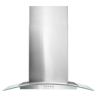 30 in. Wall Mounted Range Hood in Stainless Steel