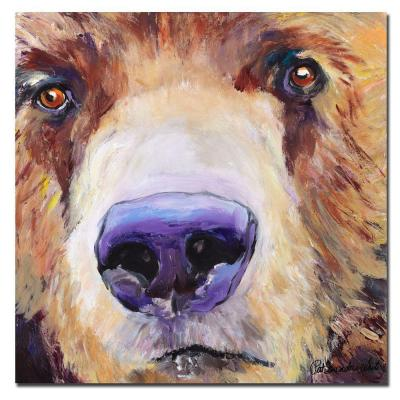 24 in. x 24 in. The Sniffer Canvas Art