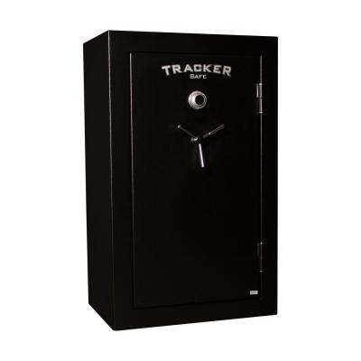 Tracker Safe 34-Gun Fire-Resistant Combination/Dial Lock, Black Powder Coat