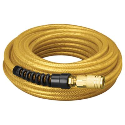 Amflo 1/4 in. x 50 ft. Premium Polyurethane Air Hose with Field Repairable Ends and Fittings