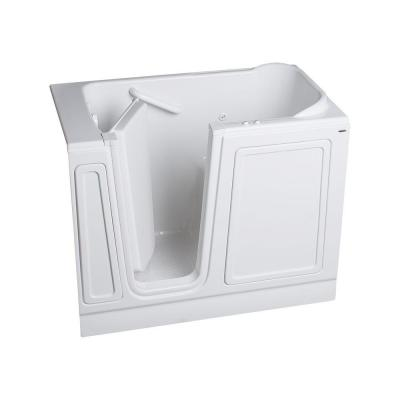 Acrylic Standard Series 48 in. x 28 in. Walk-In Whirlpool and