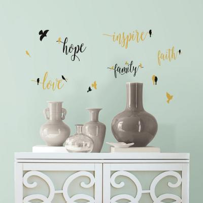 5 in. W x 11.5 in. H Inspirational Words with Birds