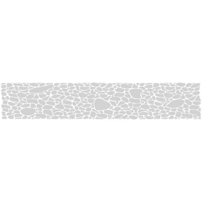 ETCHED Fx 0.012 in. x 9 in. Frosted Pebble Premium Glass Etch Window Film