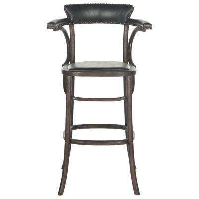 Kenny 30 in. Bar Stool in Antique Black Product Photo
