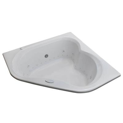 Beryl 5 ft. Right Pump Whirlpool and Air Bath Tub in