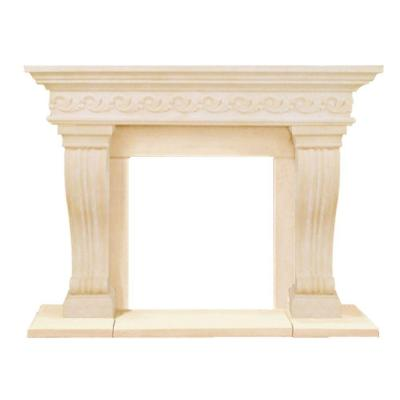 Historic Mantels President Series Sierra 52 in. x 62 in. Cast Stone Mantel