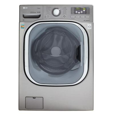 LG Electronics 4.3 DOE cu. ft. High-Efficiency Front Load Washer with TurboWash in Grapite Steel, ENERGY STAR