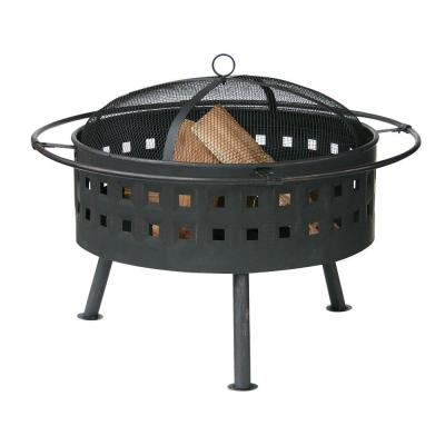 24 in. Deep Aged Bronze Fire Pit
