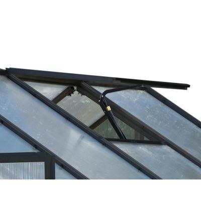 Monticello Replacement Black Finish Roof Vent with Auto Opener