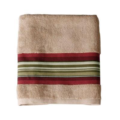 Madison Stripe Cotton Towel