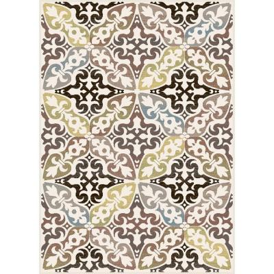Home Dynamix Fresco Gray 7 ft. 10 in. x 10 ft. 4 in. Area Rug