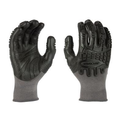 Thunderdome Impact Flex Glove in Grey/Black