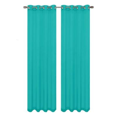 Window Elements Diamond Sheer Voile Grommet Extra Wide Collection - Window Curtain