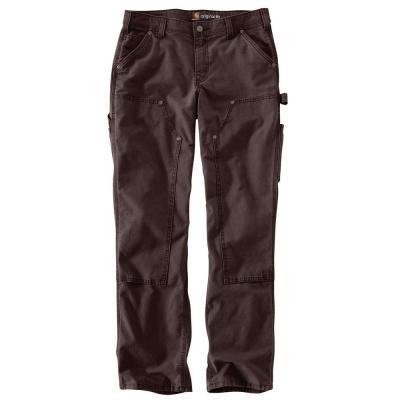 Women's Cotton/Spandex Original Fit Crawford Double-Front Pant