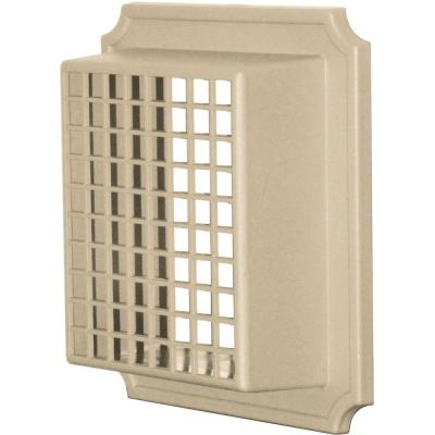 Builders Edge Exhaust Vent Small Animal Guard #013-Light Almond